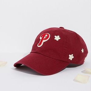 NWT Free People Phillies embroidered ball cap